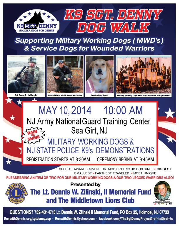 The 2nd Annual K9 Sgt. Denny Dog Walk