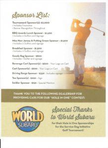 AUSA-GolfScramble-sponsors