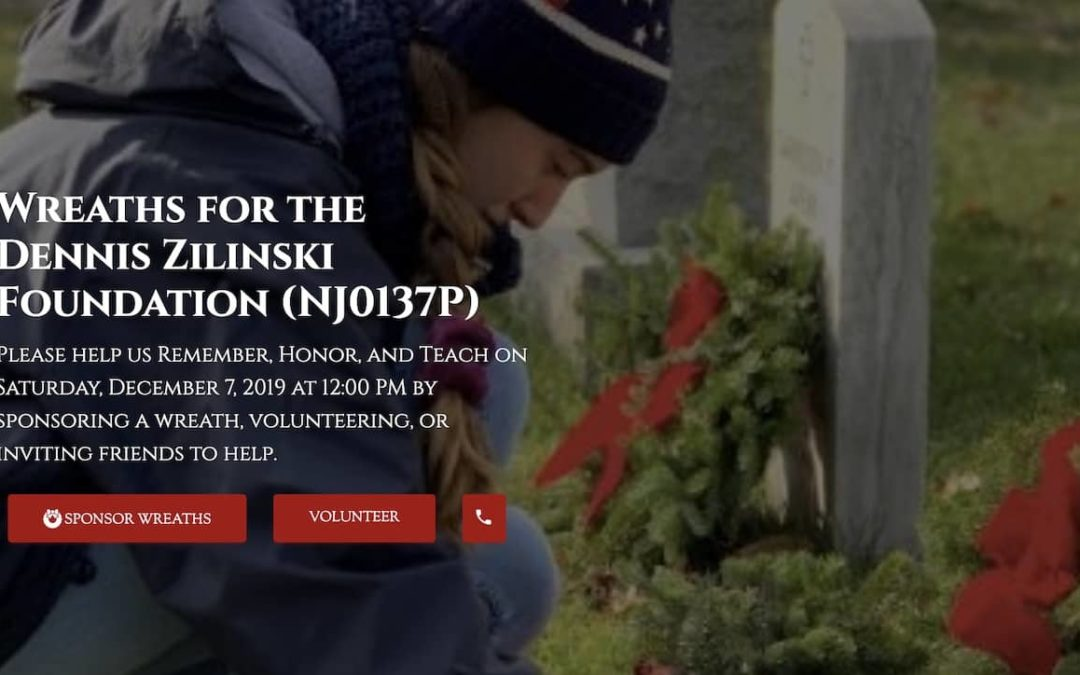 Wreaths for the Dennis Zilinski Foundation (NJ0137P)