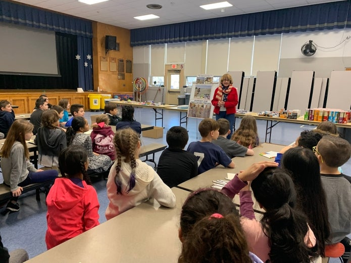 Mom Of Fallen Middletown Soldier Speaks To Fairview 4th Graders