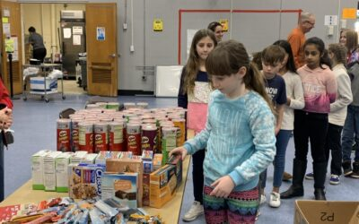 Fourth Graders at Fairview School Make a Difference for Deployed Soldiers